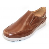 Mephisto Men's Twain In Hazelnut Randy Leather 6135