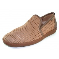 Mephisto Men's Ulrich In Taupe Sportbuck/Leather 1931/6565