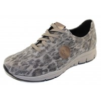 Mephisto Women's Yael In Grey Savannah Suede/Perlkid 27303/10125N