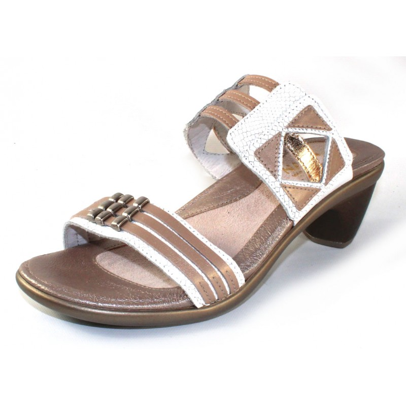124baa2a923c Privacy Policy · Naot Women s Afrodita In White Snake Embossed Leather Satin  Gold ...