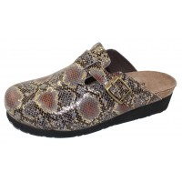 Naot Women's Autumn In Gold Python Leather