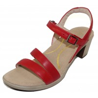 Naot Women's Bounty In Kiss Red Leather