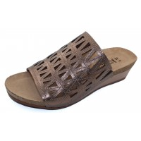 Naot Women's Crown In Radiant Copper Leather
