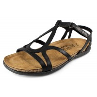 Naot Women's Dorith In Black Raven Leather
