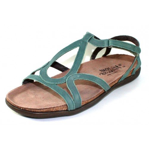 Naot Women's Dorith In Sea Green Leather