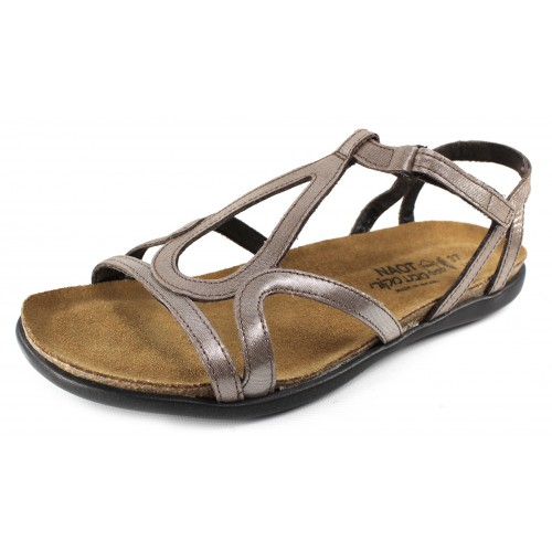 Naot Women's Dorith In Silver Threads Leather