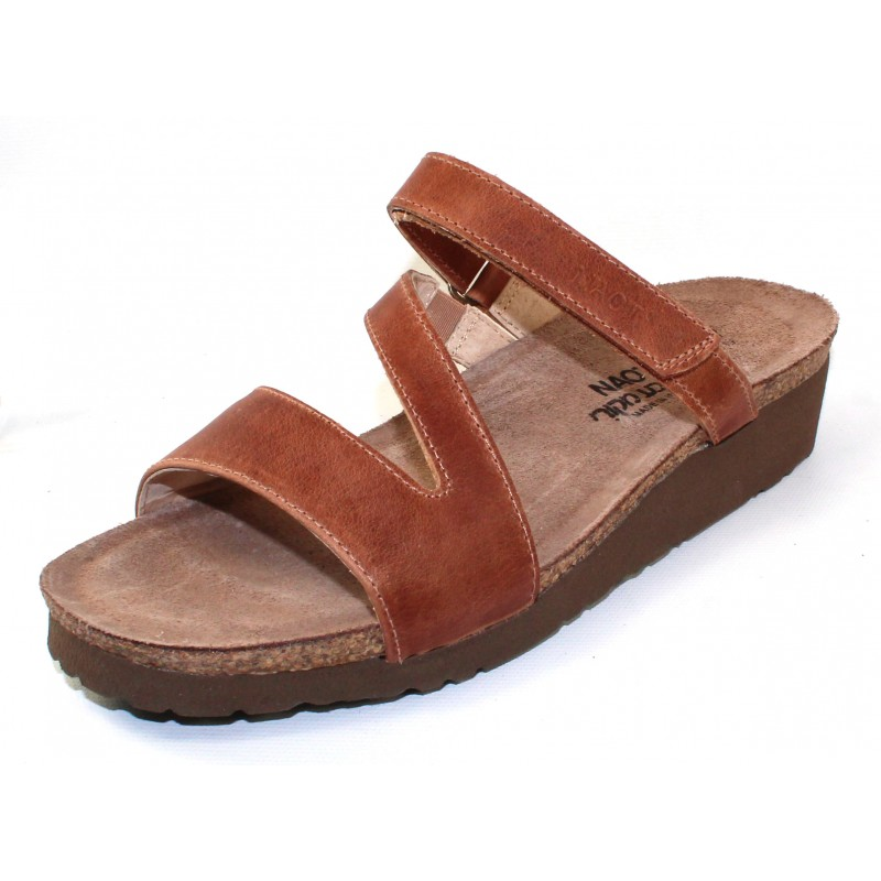 10325093d389bd Manage Newsletter. Naot Women s Gabriela In Latte Brown Burnished Leather
