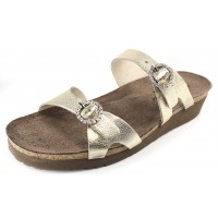 Naot Women's Kate In Radiant Gold Leather
