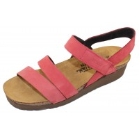 Naot Women's Kayla In Brick Red Nubuck