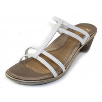 Naot Women's Loop In White Leather