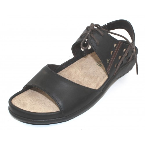 Naot Women's Mangere In Oily Coal Nubuck/Pecan Brown