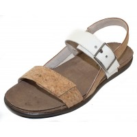 Naot Women's Norah In Cork Leather/Nude Nubuck/White Diamond Leather