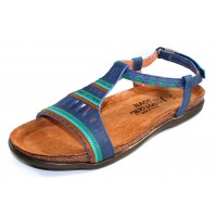 Naot Women's Odelia In Oily Blue Nubuck/Oily Emerald Nubuck
