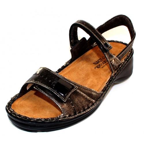 Naot Women's Papaya In Metal Distressed Leather