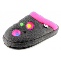 Naot Women's Repose In Gray/Pink Circles