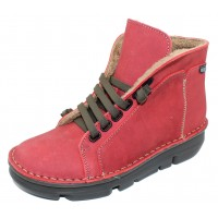On Foot Women's 29001 In Rojo Red Suede