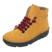 On Foot Women's 29001 In Yellow Suede