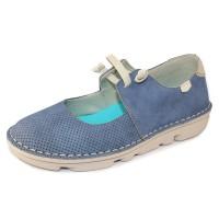 On Foot Women's 30100 In Jeans Suede