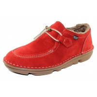 On Foot Women's 30502 In Rojo Red Suede