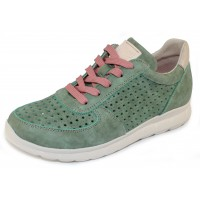 On Foot Women's 40000 In Aquamarine Suede