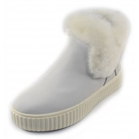 Pajar Women's Clia In Ice Nubuck/Shearling