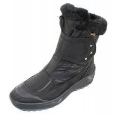 Pajar Women's Moscou 2 In Black Waterproof Nylon/Leather