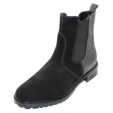 Palmroth Original Women's 83155-U38P In Black/Grey Waterproof Suede