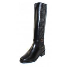 Palmroth Original Women's 84130-P11 In Black Waterproof Nappa Leather