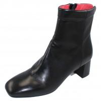 Pas De Rouge Women's Chantal 2446 In Black Nappa Leather