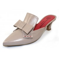 Pas De Rouge Women's Janet 1531 In Almond Nappa Leather