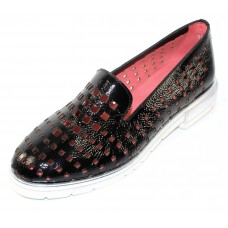 1c9ff439ffd Pas De Rouge Women s Lotty 2274 In Black Urano Patent Leather