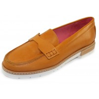 Pas De Rouge Women's Marta 2932 In Papaya Leather