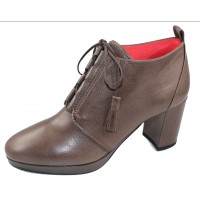 Pas De Rouge Women's Shirley 2032 In Ardesia Leather