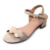 Patricia Green Women's Gina In Nude Patent Leather