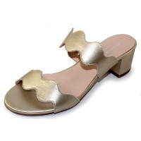 Patricia Green Women's Palm Beach In Soft Gold Leather