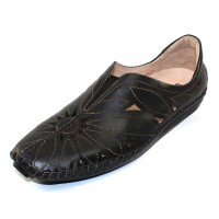 Pikolinos Women's Jerez 578-7399 In Black Leather