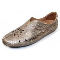 Pikolinos Women's Jerez 578-7399Cl In Stone Metallic Leather