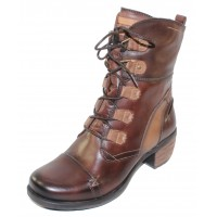 Pikolinos Women's Le Mans 838-8990 In Olmo Dark Brown Leather