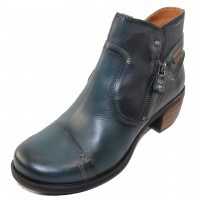 Pikolinos Women's Le Mans 838-8996 In Ocean Burnished Leather