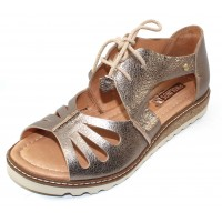 Pikolinos Women's Alcudia W1L-0917Cl In Stone Metallic Leather