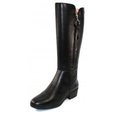 Pikolinos Women's Doroca W1U-9653 In Black Leather