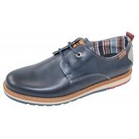 Pikolinos Men's Berna M8J-4273 In Blue Calfskin Leather