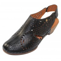Pikolinos Women's Romana W9X-1786 In Black Leather