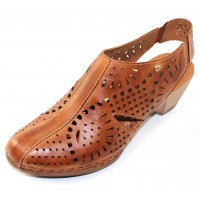 Pikolinos Women's Romana W9X-1786 In Brandy Burnished Leather