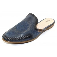 Pikolinos Women's Bari W0S-4680C1 In Nautic Blue Burnished Leather