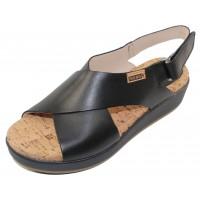 Pikolinos Women's Mykonos W1G-0757C2 In Black Leather
