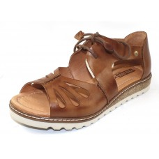 Pikolinos Women's Alcudia W1L-0917 In Brandy Burnished Leather