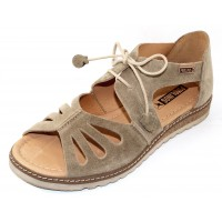 Pikolinos Women's Alcudia W1L-0917So In Ficus Green Suede