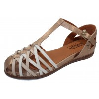 Pikolinos Women's Talavera W3D-0665Clc1 In Champagne Calfskin Leather