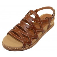 Pikolinos Women's Marazul W3F-0879 In Brandy Leather